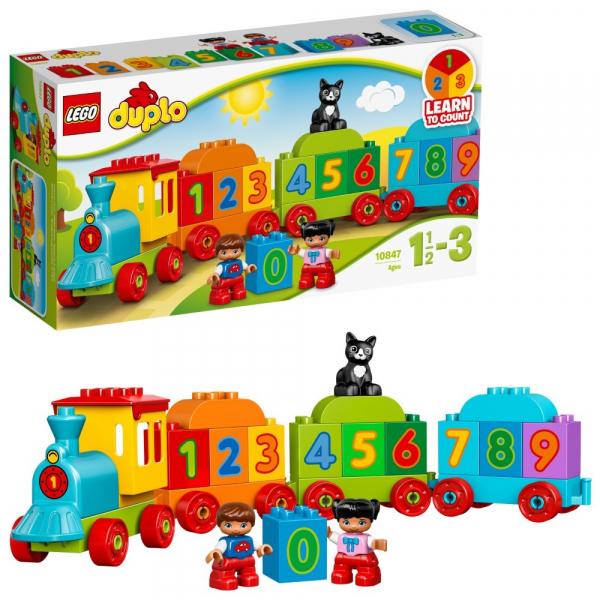 LEGO® DUPLO® - Trenulețul cu numere [4]