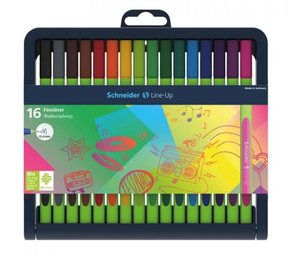 Set Liner Schneider Line-Up 16 culori [0]