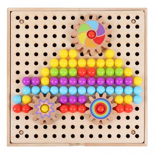Joc mozaic cu roti zimtate [4]