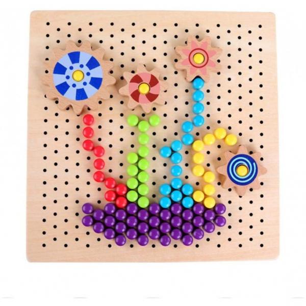 Joc mozaic cu roti zimtate [5]