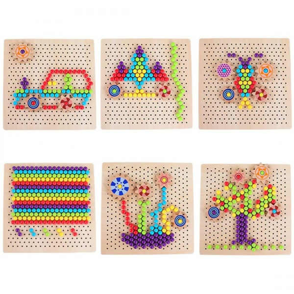 Joc mozaic cu roti zimtate [6]