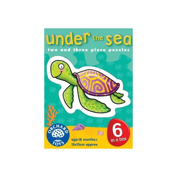 Puzzle 6 în 1 Animale subacvatice [0]