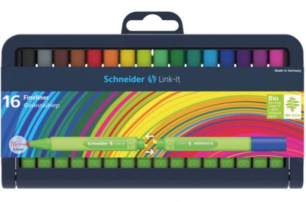 Set Liner Schneider Link-It 0,4 mm, Set 16 culori [0]