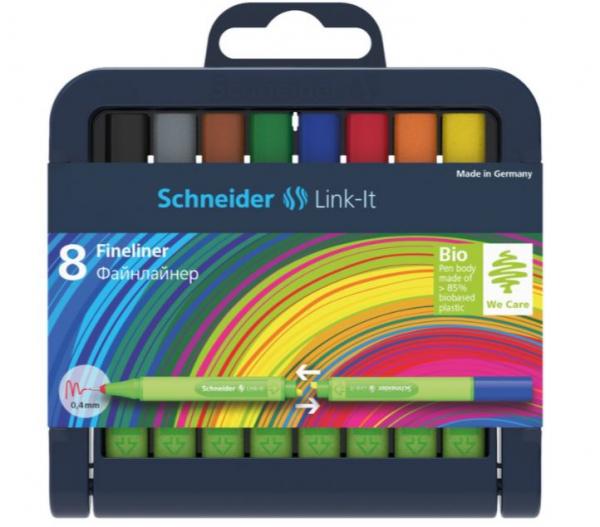Set Liner Schneider Link-It 0,4 mm, Set 8 culori [0]