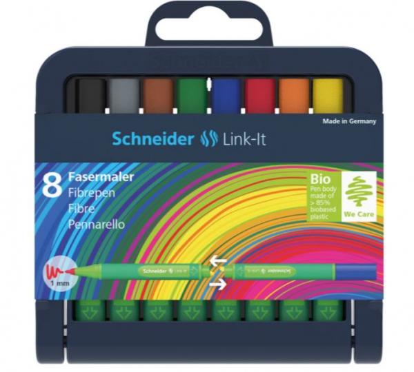 Set Liner Schneider Link-It 1,0 mm, Set 8 culori [0]
