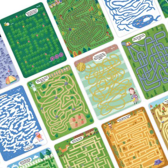 Joc interactiv labirint Scrie si sterge [6]