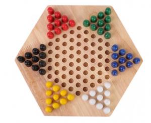 Șah chinezesc din lemn Checkers Game [1]