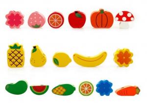 Jucarie tip Montessori Ariciul cu fructe [2]