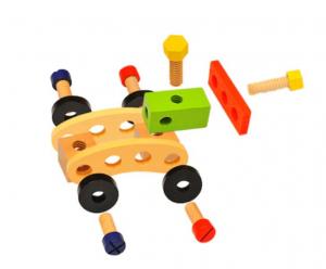 Trusă unelte din lemn pentru copii [1]