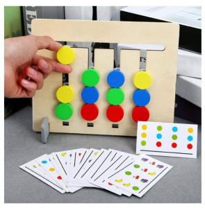 Joc Montessori de logică - Culori și fructe [0]