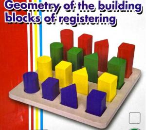 Puzzle lemn 3D Forme Geometrice Colorate [0]