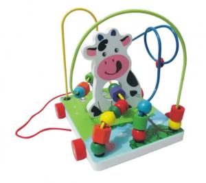 Jucărie motricitate fină Labirint mare - Văcuță [0]