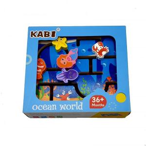 Joc lemn labirint 3D - Lumea oceanului [1]