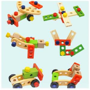 Trusă unelte din lemn pentru copii [3]