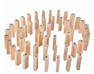 Joc educativ Jenga din lemn [2]