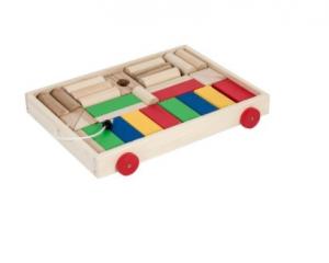 Carucior cuburi din lemn [2]