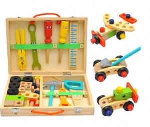 Trusă unelte din lemn pentru copii [0]
