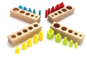 Cilindri Montessori din lemn [0]