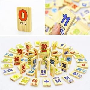 Joc educativ din lemn Domino în engleză [0]