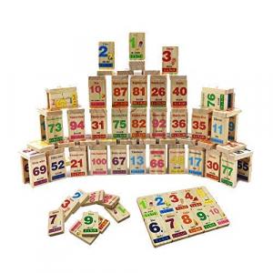 Joc educativ din lemn Domino în engleză [1]