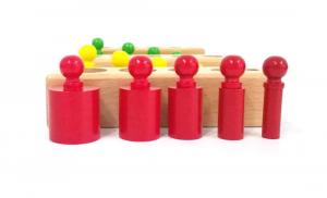 Cilindri Montessori din lemn [3]