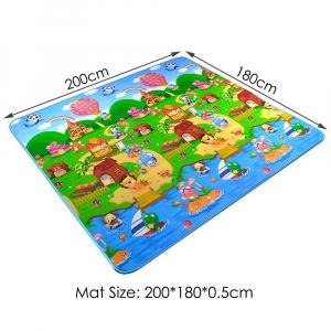 Covor de joacă Litere și Animale 180x200cm [1]