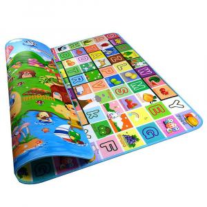 Covor de joacă Litere și Animale 180x200cm [3]