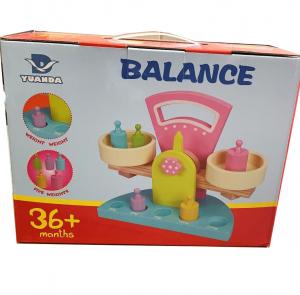 Balanță din lemn tip Montessori [1]