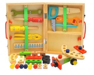 Trusă unelte din lemn pentru copii [5]