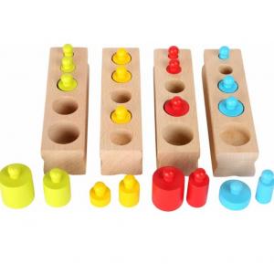 Cilindri Montessori din lemn [4]