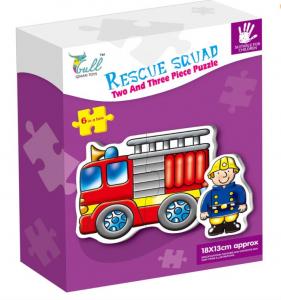 Puzzle mare 6 în 1 Mașini de salvare [0]
