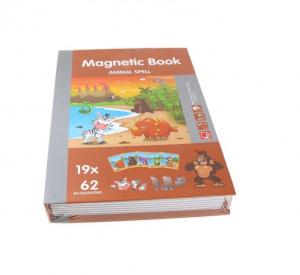 Carte magnetică cu piese puzzle Animale sălbatice [1]