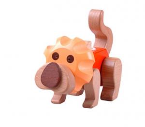 Puzzle 3D din lemn Leu [5]