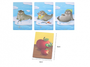 Joc educativ tip Montessori- asociere imagini viața animalelor [4]
