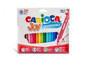 Carioca Joy Varf subtire Set 18 culori [0]