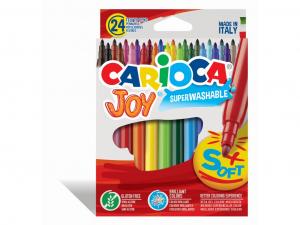 Carioca Joy Varf subtire Set 24 culori [0]