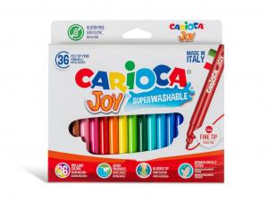Carioca Joy varf subtire Set 36 culori [0]