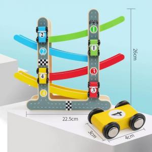 Rampă-Circuit cu mașinuțe din lemn [1]