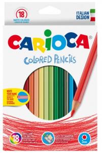 Creioane colorate carioca Set 18 culori [0]