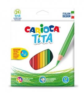 Creioane colorate Tita 24/set [0]