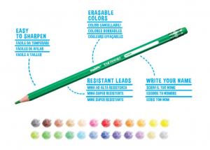 Creioane color Tita Erasable, 12 culori [1]
