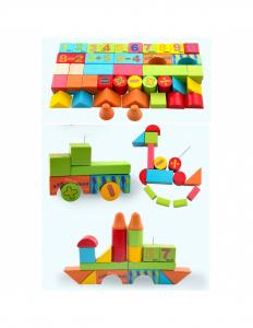Cuburi din lemn, colorate, cu imagini [0]