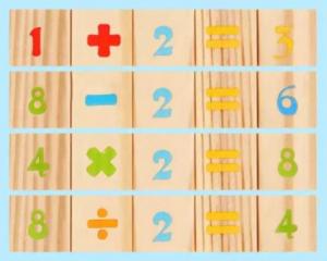 Cuburi din lemn natur, cu ilustratii [2]