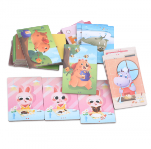 Joc educativ tip Montessori- asociere imagini viața animalelor [2]