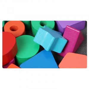Tablă tip Montessori 3 în 1: Cifre, Forme geometrice și Numărătoare [3]