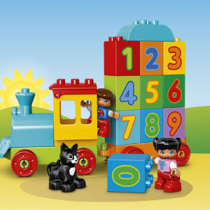 LEGO® DUPLO® - Trenulețul cu numere [1]