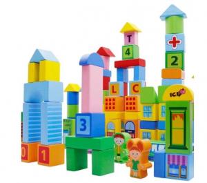 Set de constructie din lemn Oraselul [3]