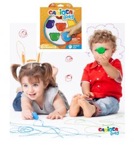 creioane cerate si colorate - Teddy - Carioca Baby 1an+ Ursuleti [2]