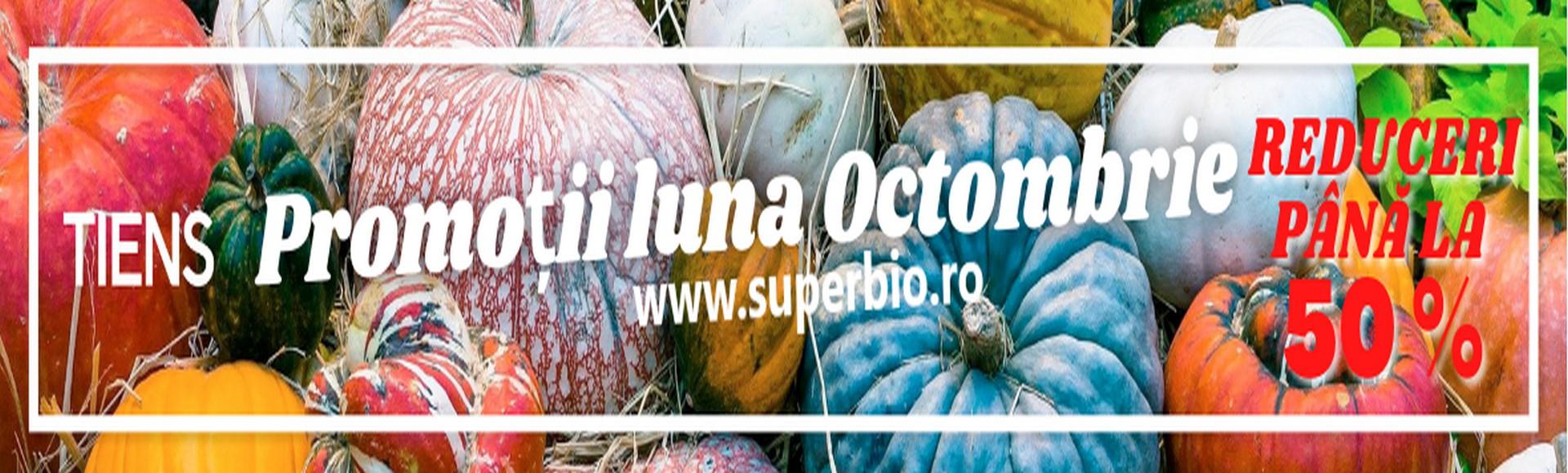 Promotii luna octombrie