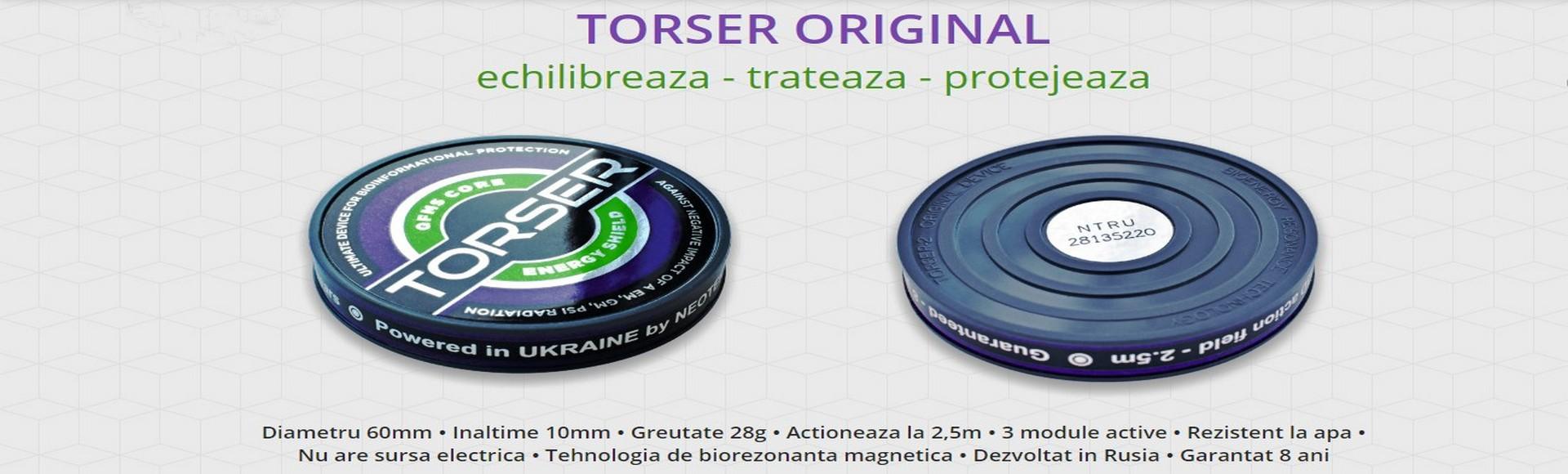 TORSER Original - Tehnologia de biorezonanta magnetica